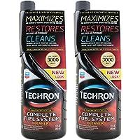 Chevron 雪佛龙 Techron特劲燃油系统清洗剂355ml*2美国原装进口(高含量有效成分PEA聚醚胺让你的油门更轻 动力更强 更省油)XFLTCP02