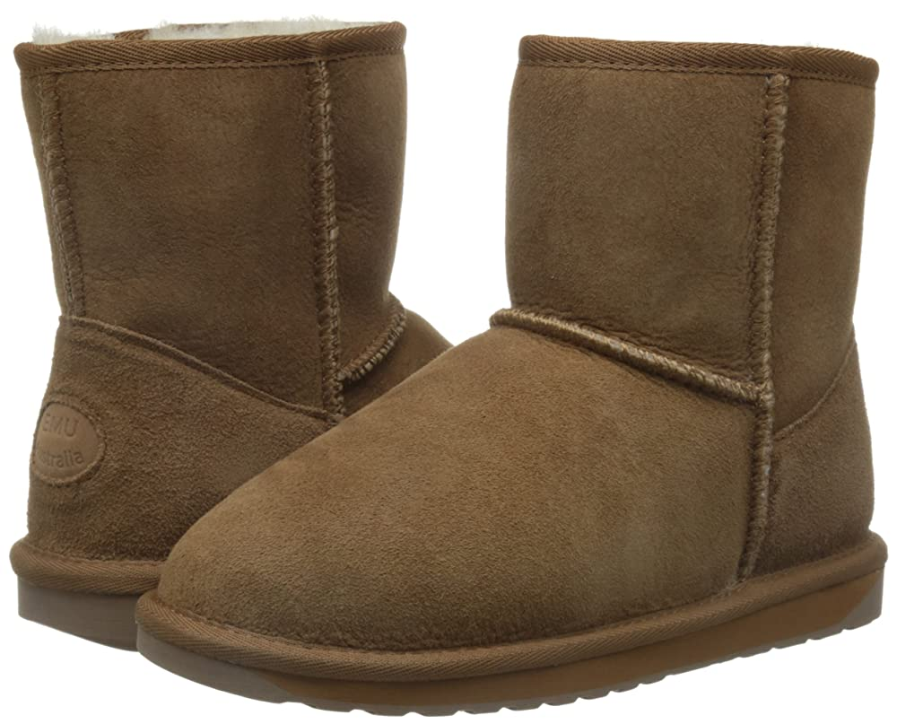 EMU Originals Stinger Mini 女士6寸羊皮皮毛一体防水雪地靴