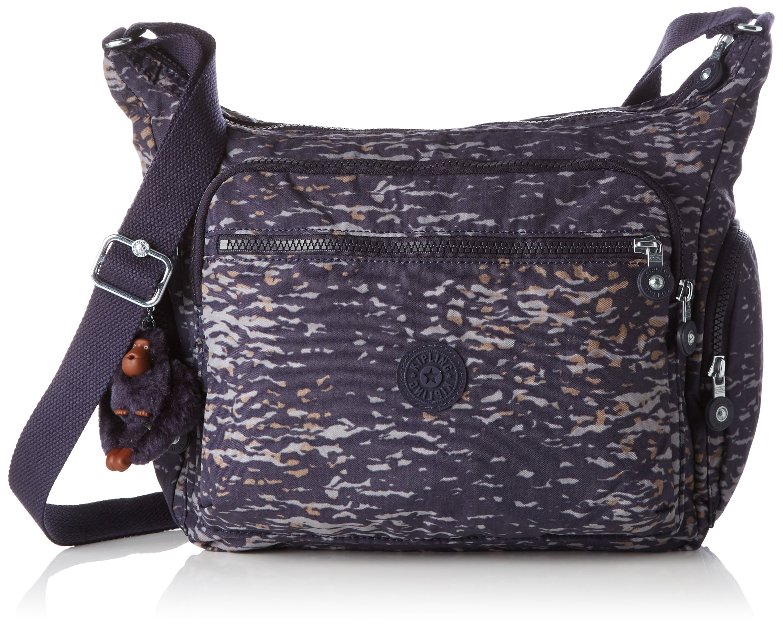 Kipling gabbie ,女式单肩包 Multicolour (Water Camo) 35.5x30x18.5 cm (B x H x T)