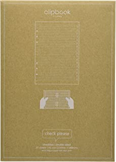 filofax 斐来仕 345005 A5 清单页 笔记本内页 活页替芯 内芯 配件(白色)