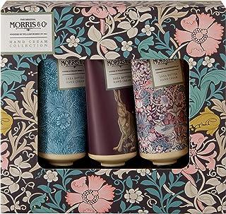 Morris&Co. 金银花和粉红粘土护手霜系列,旅行装礼盒(3 x 30毫升)