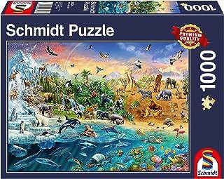 Schmidt 58324 动物王国优质拼图(1000 片)