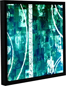 """ArtWall Herb Dickinson's Process Gallery Wrapped Floater Framed Canvas, 18 x 18"""""""