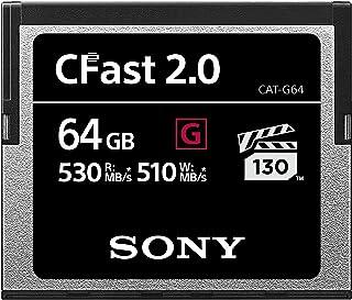 索尼高性能 CFast G 系列 2.0 存储卡CAT-G64  64GB