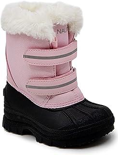Nautica 女童 Beasley 全天候雪地靴