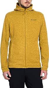 VAUDE 男式 Rienza 连帽夹克 - 保暖羊毛夹克连帽衫 登山 - 完美同底层 - 针织外观