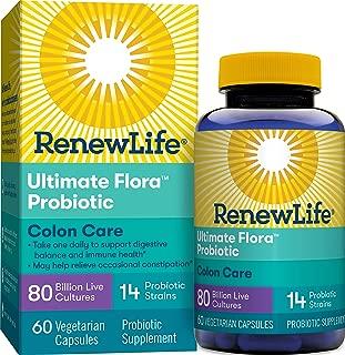 Renew Life Ultimate Flora結腸護理益生菌- 800億- 60粒膠囊