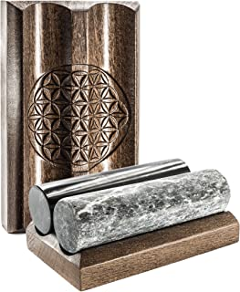 Wallystone Gems 支架适用于三叶石和肥皂石谐器木制支架