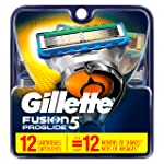 Gillette 吉列 Fusion5 ProGlide男士剃須刀 補充裝 12個 男士Fusion剃須刀