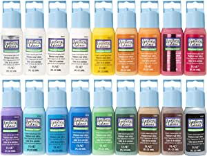 Plaid PROMOGGI Gallery Glass Acrylic Paint, 2-Ounce, Best Selling Colors I