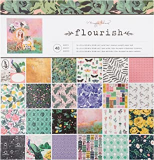 Maggie Holmes Flourish 图案 48 张 12 x 12 张