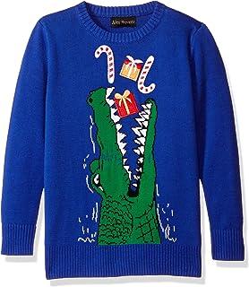 Alex Stevens 男孩鳄鱼礼物毛衣