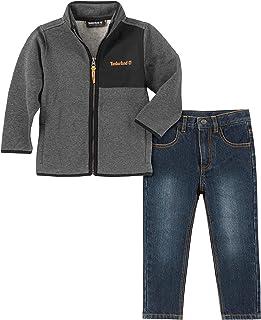 Timberland 添柏岚男孩 2 件套夹克裤子套装