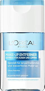 L'Oréal Paris 巴黎欧莱雅 卸妆液 特别适合防水持久妆容 适用于敏感眼部区域 125 毫升