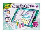 Crayola Sprinkle Art Shaker 彩虹艺术和工艺品,适合女孩,礼物,年龄 5 岁,6,7 岁,8 岁