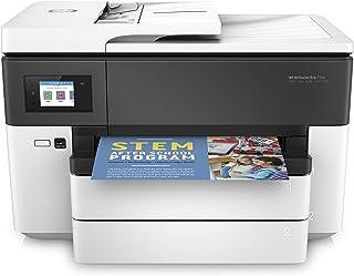 HP 惠普 OfficeJet Pro A3多功能打印机(A3,打印机,扫描仪,复印机,传真机,WLAN,双面打印机,支援 Apple Airprint)白色 Schwarz, Weiß 500 Blatt Papierfach
