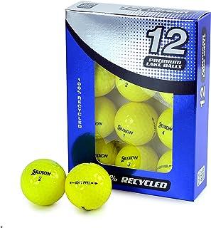 Second Chance 中性 Srixon 柔软触感黄色 12 件装优质湖球级