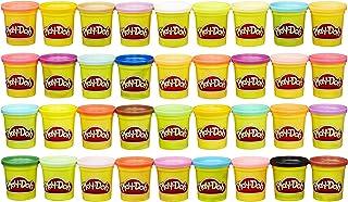 Hasbro孩之宝 Play-Doh 橡皮泥 36盒装 彩色,多种颜色,3盎司/84克罐装