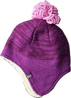 "Jack Wolfskin 雪花儿童针织帽,带毛球和耳朵保护帽 中 ""Multi"" 1907451-2125003"