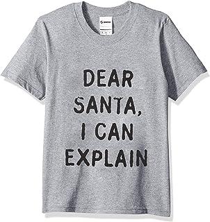 Soffe 男童大号趣味圣诞毛衣 T 恤