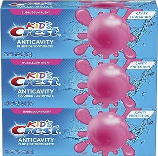 Crest 佳洁士儿童口腔护理 含氟牙膏,泡泡糖Rush,3件