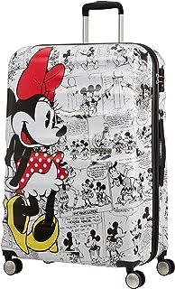 American Tourister 迪士尼Wavebreaker Spinner Mickey + Minnie Minnie Comics White 77 cm