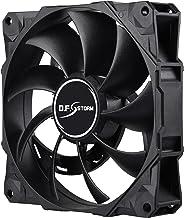 Enermax T.B. RGB 120mm 独特 HALO 弧形框架 RGB LED 外壳风扇 6 只装带 RGB 控制盒 1UCDFS12P D.F.Storm 120 Storm