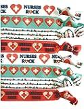 8 件套护理*弹性套装 - *礼物 - *、女士、女孩、教师、护理学校课、感恩周、毕业典礼、同事和朋友的配饰 - 美国制造