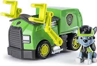 Paw Patrol 狗狗巡逻队 Mission Paw - Rocky的使命回收卡车