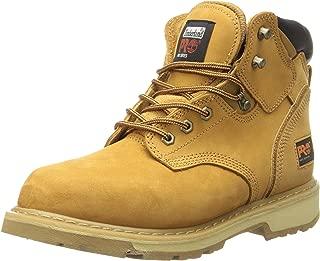 Timberland PRO 男士 Pitboss 6英寸软头靴子