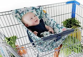Binxy 婴儿购物车吊床 | 符合人体工程学的婴儿背带 + 定位器 Tropical Days