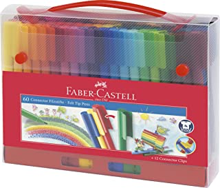 Faber-Castell辉柏嘉 连接纤维笔精装盒 60支装