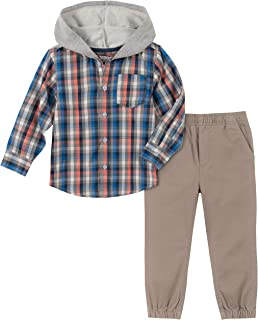 Kids Headquarters 男孩 2 件衬衫裤子套装