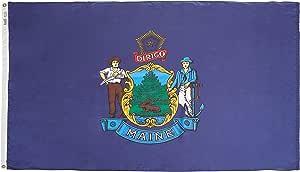 缅因州旗 4x6' 142270