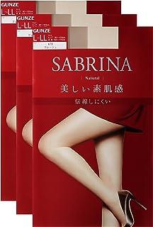 [ ] 郡是 Sabrina Natural (Sabrina 自然) 连裤袜〈3双装〉相同 SB410女士