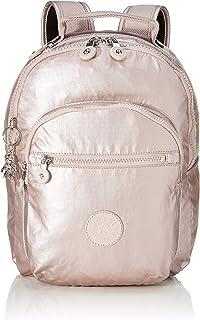 Kipling 凯浦林 Basic Plus 学生背包,35 厘米 Pink (Metallic Rose) Pink (Metallic Rose)
