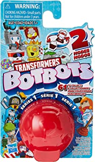 Transformers Botbots 系列 1 收藏版 Blind Bag Mystery Figure - 2 合 1 惊喜玩具!