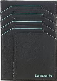 卡片夾 - 一體式錢包式信用卡盒,13厘米,0升 黑色/淺藍色 黑色/淺藍色