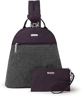 Baggallini 防盗敞篷背包 暗紫色(Blackberry) 均码