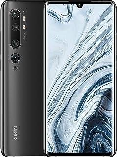小米 Mi Note 10 128GB 108 MP Penta Camera 6.47 英尺 LTE 工厂解锁智能手机(国际版)26130 Device only 午夜黑