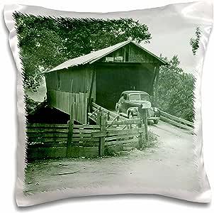 SANDY mertens alabama–带盖桥入口到牛津鞋湖公园, coosa VALLEY , alabama–枕套