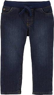 Carter's 卡特男童牛仔套穿牛仔裤,蓝色