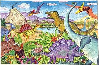 eeBoo 儿童拼图,100 片 Age of Dinosaur