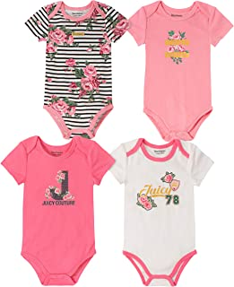 Juicy Couture 女婴连体衣 4 件套