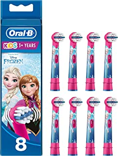 Oral-B 欧乐B 儿童电动牙刷替换刷头,冰雪奇缘图案,8件装