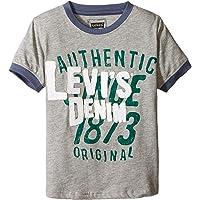 LEVI'S 小男孩图案圆领 T 恤