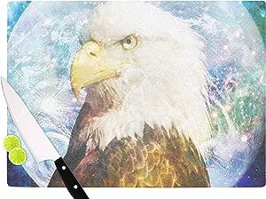 "KESS InHouse SC2168ACB01 Suzanne Carter""Space Cadet2"" 黑色蓝色切割板,多色 多种颜色 11.5 x 8.25"" SC2168ACB01"