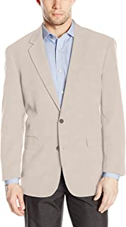 Louis Raphael Men's Tailored Classic Fit 2 Button Center Vent Jacket