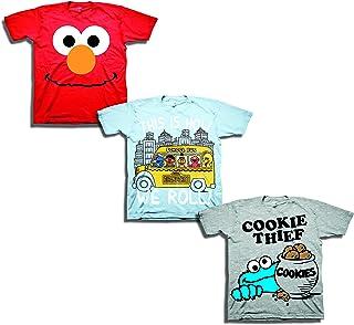 芝麻街男孩幼儿男孩3件装 T 恤套装