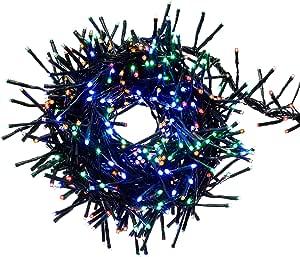 WeRChristmas 480 五色 LED 多功能窗帘灯组,4 米 x 80 厘米 - 多色
